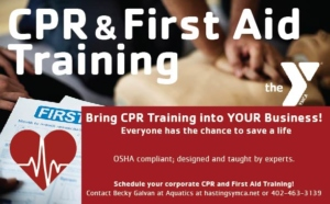 CPR & First Aid Training - Hastings YMCA