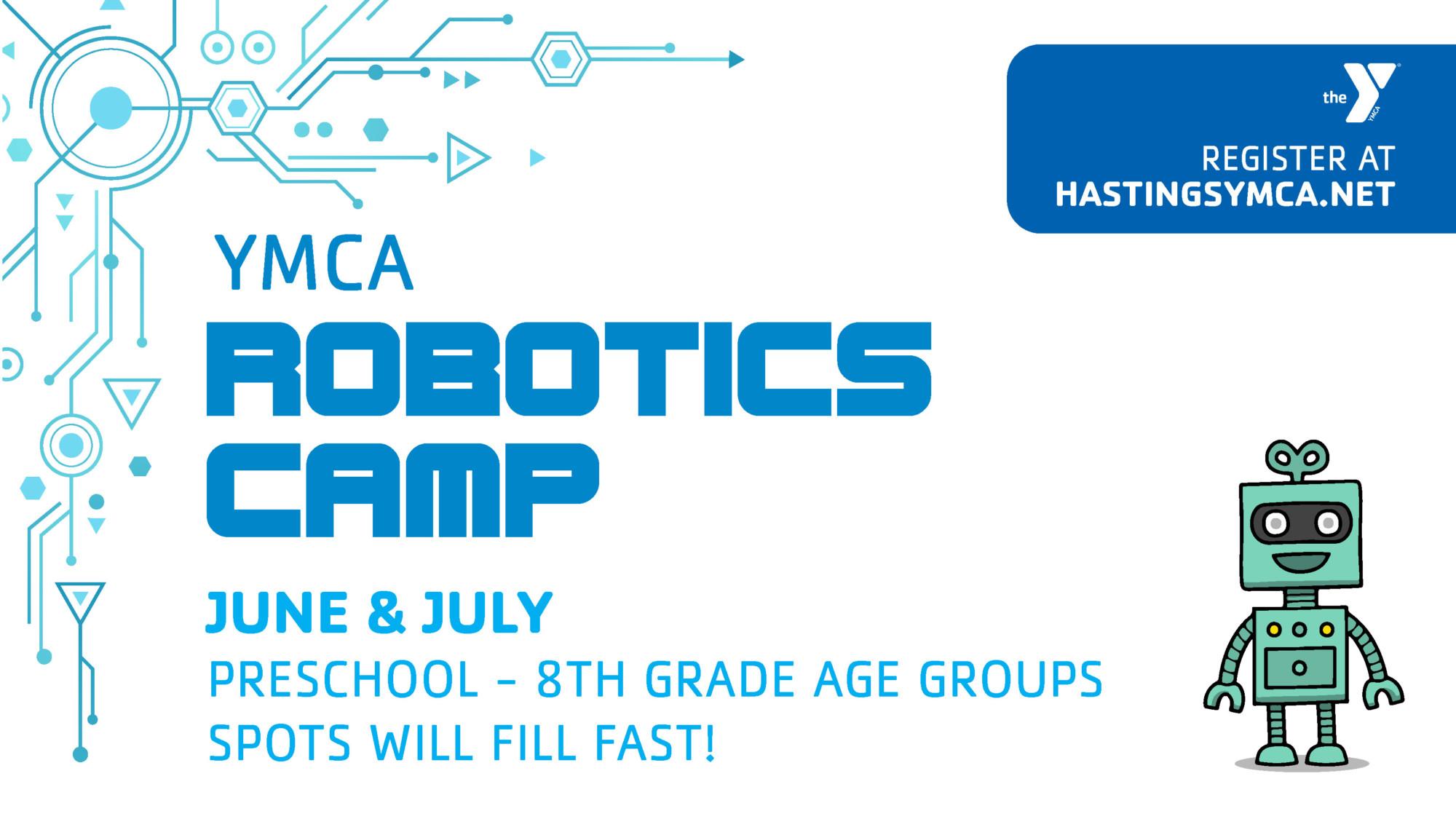 Robotics Camp - Hastings YMCA